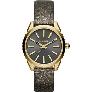 Diesel DZ5476 Watch Strap Gold Leather