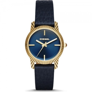 Diesel DZ5514 Watch Strap Bleu Leather
