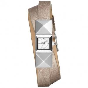 Diesel DZ5517 Watch Strap Silver Leather