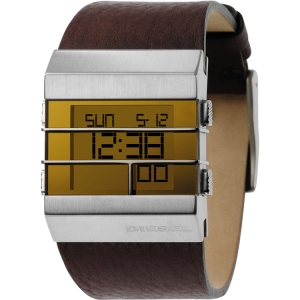 Diesel DZ7071 Watch Strap Brown Leather