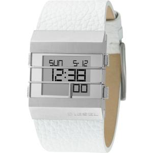 Diesel DZ7087 Watch Strap White Leather