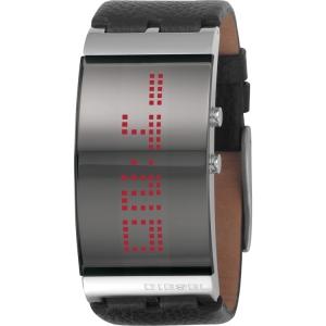 Diesel DZ7092 Watch Strap Black Leather