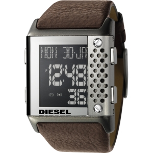 Diesel DZ7123 Watch Strap Brown Leather