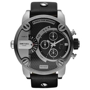 Diesel DZ7256 Watch Strap Black Leather