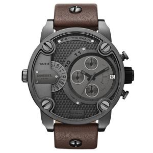 Diesel DZ7258 Watch Strap Brown Leather