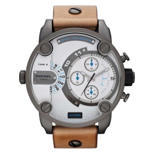 Diesel DZ7269 Watch Strap Brown Leather
