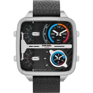 Diesel DZ7283 Watch Strap Black Leather