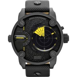 Diesel DZ7292 Watch Strap Black Leather