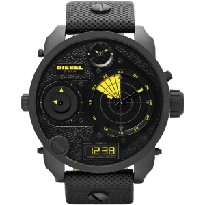 Diesel DZ7296 Watch Strap Black Leather