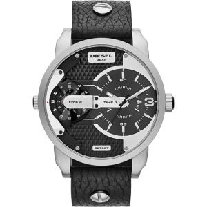 Diesel DZ7307 Watch Strap Black Leather