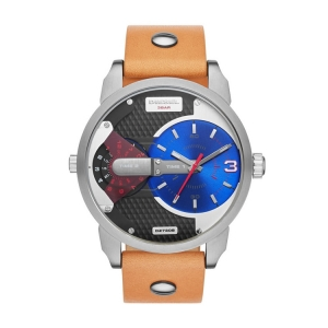 Diesel DZ7308 Watch Strap Brown Leather