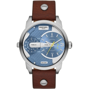 Diesel DZ7321 Watch Strap Brown Leather