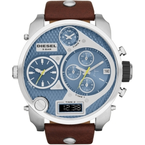Diesel DZ7322 Watch Strap Brown Leather