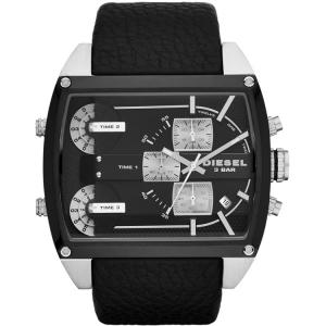 Diesel DZ7326 Watch Strap Black Leather