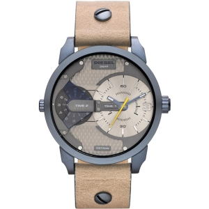 Diesel DZ7338 Watch Strap Beige Leather