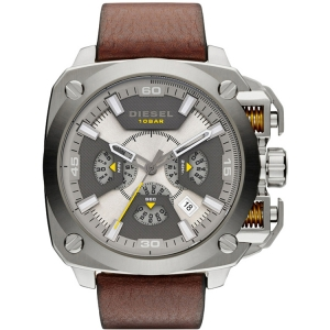 Diesel DZ7343 Watch Strap Brown Leather