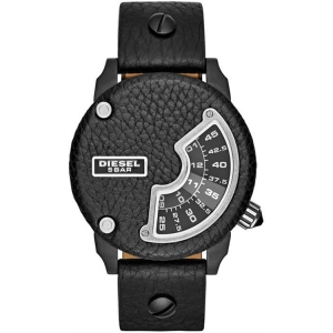 Diesel DZ7353 Watch Strap Black Leather