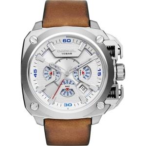 Diesel DZ7357 Watch Strap Brown Leather