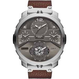Diesel DZ7360 Watch Strap Brown Leather