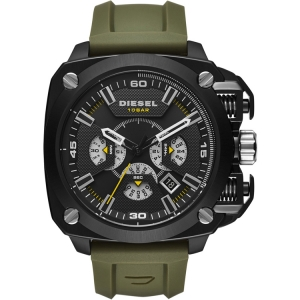 Diesel DZ7369 Watch Strap Green Rubber