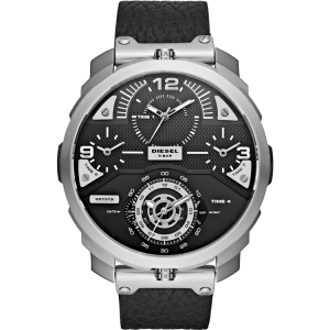 Diesel DZ7379 Watch Strap Black Leather