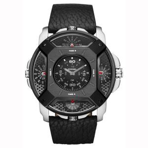 Diesel DZ7384 Watch Strap Black Leather