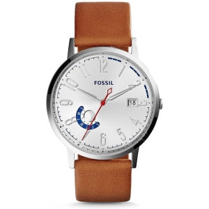 Fossil ES3790 Watch Strap Brown Leather