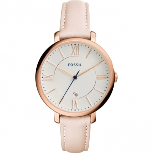 Fossil Jaqueline ES3988 Watch Strap Pink Leather