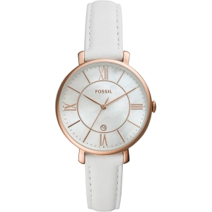 Fossil ES4579 Watch Strap White Leather