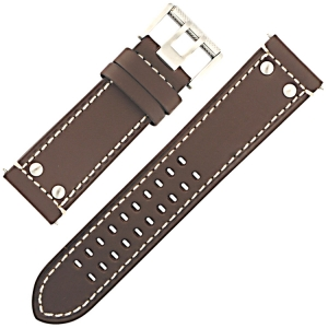 Luminox Atacama Field 1880/1890 Watch Strap Brown Leather 26mm - FE.1880.71Q