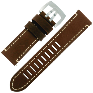 Luminox Field Automatic 1801 Watch Band Brown Leather - FE.1800.70Q