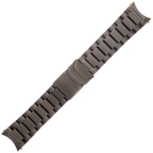 Luminox Field Watch Band Series 1820, 1840 IP Black Stainless Steel