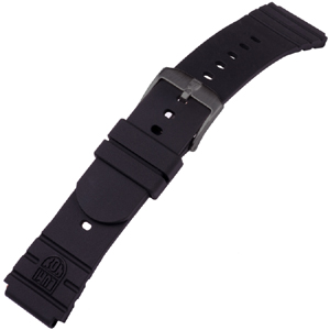 Luminox 3001 Black Out Watch Band Original Navy SEAL Rubber - FP.3000.21HPL