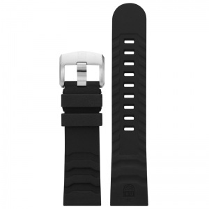 Luminox 3600 3800 Series Watch Strap Black Rubber 24mm - FP.3800.80Q