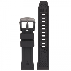 Luminox 5020 SXC / XCOR Aerospace Watch Strap Black Rubber - FP.5020.20B