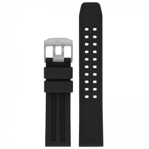 Luminox 8050 8150 8250 8350 Series Watch Strap Black Rubber - FP.8050.20