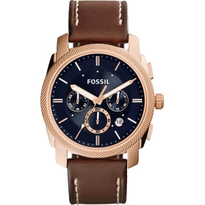 Fossil FS5073 Watch Strap Brown Leather