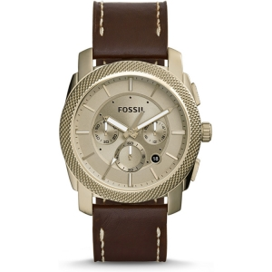 Fossil FS5075 Watch Strap Brown Leather