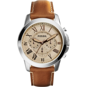 Fossil FS5118 Watch Strap Brown Leather