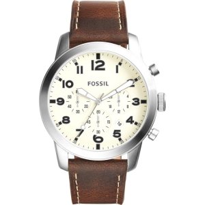 Fossil FS5146 Watch Strap Brown Leather