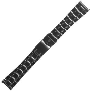 Luminox Air F-117 Nighthawk 3400, 3401, 3402 Series Watch Band IP Black Stainless Steel