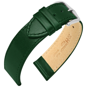 Hirsch Osiris Watch Band Box Leather Green