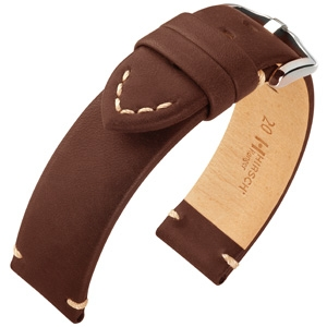 Hirsch Ranger Watch Strap Calf Skin Brown