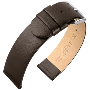 Hirsch Scandic Watch Band Calf Skin Brown