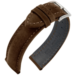 Hirsch Heritage 1765 Artisan Watch Band Brown