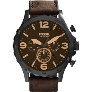 Fossil JR1487 Watch Strap Brown Leather
