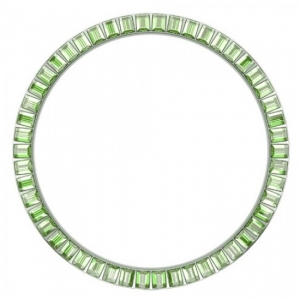 Marc Coblen / TW Steel Bezel 45mm Stainless Steel Light Green Crystals - MCB45S214