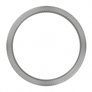 Marc Coblen / TW Steel Bezel 45mm Hammered Stainless Steel - MCB45SH