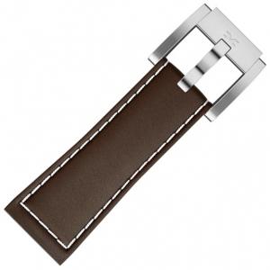 Marc Coblen / TW Steel Watch Strap Brown Leather 22mm