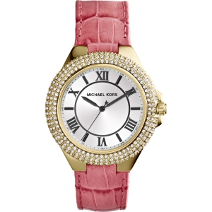 Michael Kors MK2329 Watch Strap Pink Leather